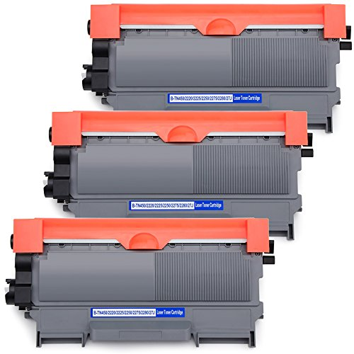 OSIR 3 Black TN450 Toner Cartridge Replacement for Brother TN450 TN420 TN-450 TN-420, Compatible with Brother HL-2270DW HL-2280DW HL-2230 HL-2240 HL-2240D MFC-7860DW MFC-7360N DCP-7065DN (Tn450 Laser Toner)