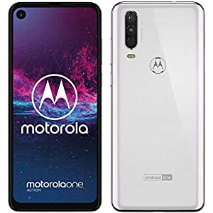 Motorola One Action – Made for Latin America & Brazil – (White, 128GB, 4GB RAM) – Unlocked – GSM Latin American & Brazilian Bands – (Missing Specific U.S. GSM Bands) – No Warranty – No CDMA – XT2013-1