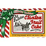 Claxton Fruit Cake - 1 lb. packs - 3 ct.