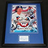Signed Robin Yount Photo - Framed 11x14 Display HOF - Autographed MLB Photos