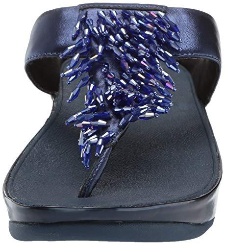 632 Mujer Blue Rumba Con T thong A Fitflop Azul Tira Toe Para Sandals meteor Sandalias 16OZvq