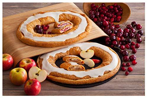 Danish Kringle Pair - Wisconsin & Apple (Best Kringle In Wisconsin)