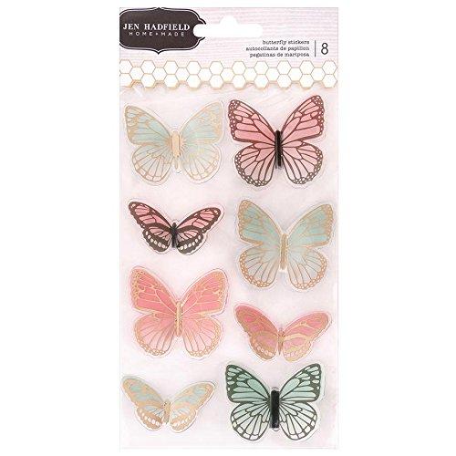 Jen Hadfield 733053 Butterfly Stickers Multicolor