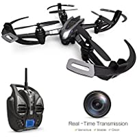 Goolsky i4w WiFi FPV Drone with 0.3MP Camera Live Vedio Headless Mode&3D Flip&One Key Return Home RTF RC Quadcopter
