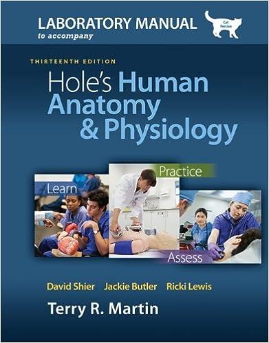Laboratory Manual For Holes Human Anatomy