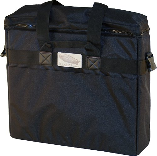 iLugger 21.5'' iMac Maximum Protection Padded Reinforced Travel Bag (Black) by iLugger