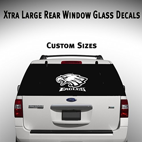 Philadelphia Eagles Car Suv Truck Window Decal Graphic Sticker NFL Fan Super Bowl - Stores Philadelphia