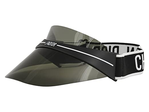 8bd0d74ea0 Image Unavailable. Image not available for. Color  Authentic Christian Dior  DIORCLUB 1 Visor 00H3 Black Grey Sunglasses