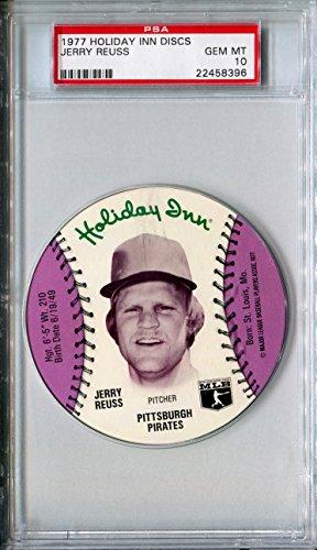1977-msa-holiday-inn-sports-discs-jerry-reuss-rare-psa-gem-mint-10-sp-pittsburgh-pirates-los-angeles