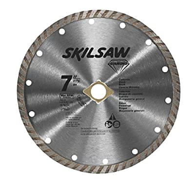SKIL 79510C 7-Inch Turbo Rim Diamond Circular Saw Blade from Skil