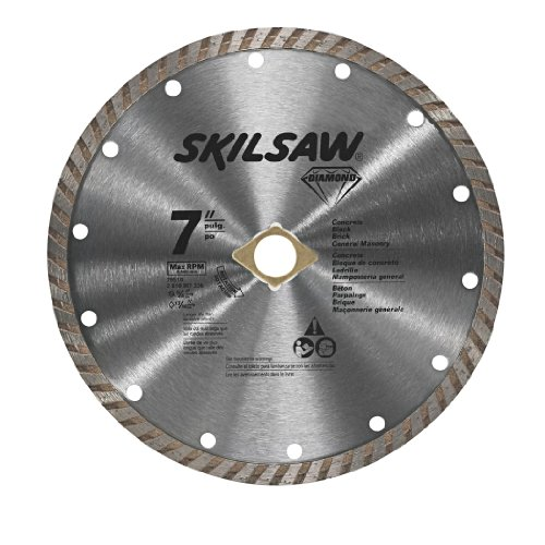 Diamond Edge Saw Blade (SKIL 79510C 7-Inch Turbo Rim Diamond  Blade)