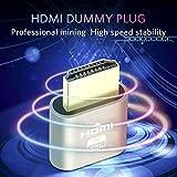 HDMI Dummy Plug, Display Emulator, Headless Ghost,fit Headless dummy display. 4K 1920x1080 - 3840x2160 New generation@60Hz