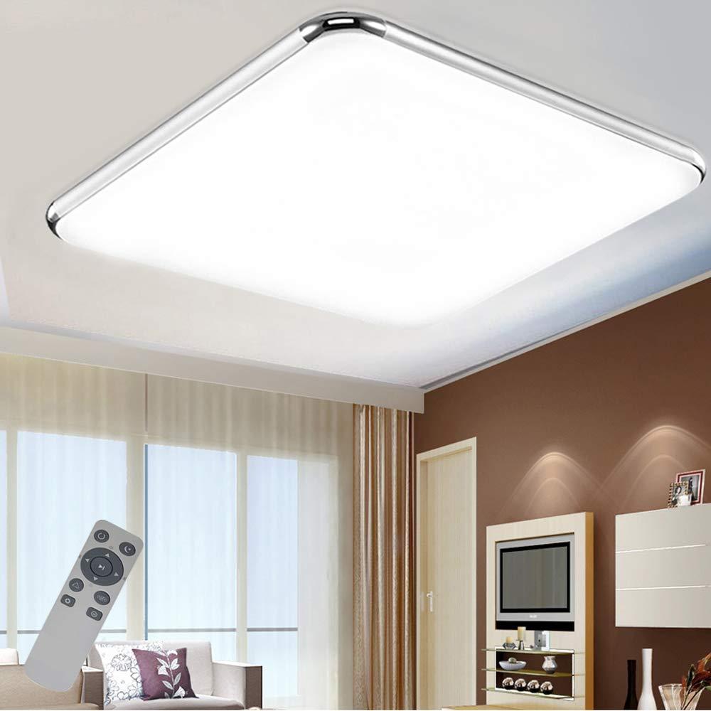 VWANT Deckenlampe Badezimmer LED Deckenleuchte 72W Wohnzimmer Lampe ...