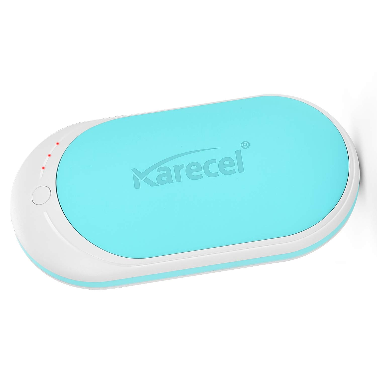 Karecel Hand Warmers Rechargeable, Electric Hand Warmer Reusable 5200mAh Powerbank Portable USB Heater Battery Hot Pocket Warmer Heat Handwarmers, Cool Gifts for Men and Women in Cold Winter by KARECEL