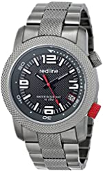 """red line Men's RL-50043-GM-104 """"Octane"""" Stainless Steel Watch h"""