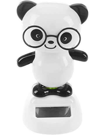 Toys & Hobbies Hot Solar Powered Dancing Animal Cute Bear Swinging Animated Bobble Bear Dancer Doll Toy For Kids
