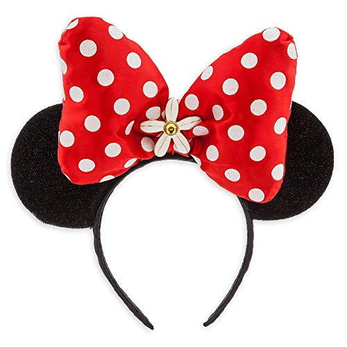 Disney Minnie Mouse Costume For Adults (Disney Minnie Mouse Ear Headband - Red Bow)
