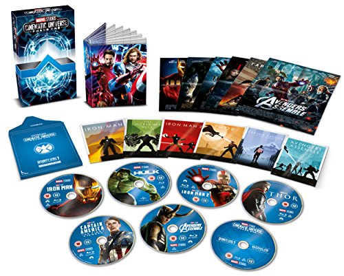 Marvel Cinematic Universe Phase 1 by Walt Disney Studios HE