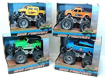 Friction Jouets 18cm Et Voiture L'unitéJeux Monster Truck 34ARq5jcL