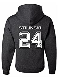 Adult Teen Wolf Stilinski 24 Hoodie - READ Important NOTE