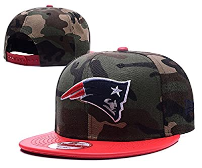 New England Cotton Patriots Football Cap Men & Women¡s Snapback Classic Adjustable Hat One Size