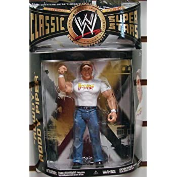 WWE Wrestling Classic Superstars Series 28 Action Figure Roddy Piper