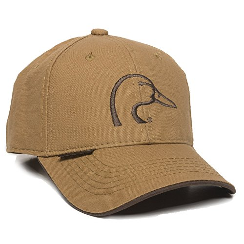 Ducks Unlimited Hat - Outdoor Cap Ducks Unlimited Canvas Cap, Brown