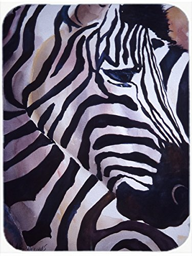 Caroline's Treasures Zebra Head Mouse Pad/Hot Pad/Trivet (JMK1198MP)