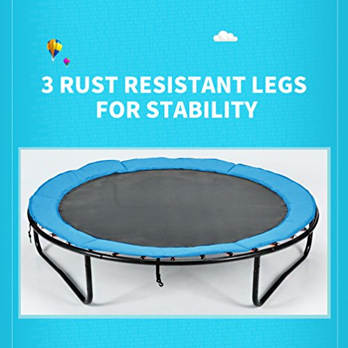 Fashionsport OUTFITTERS Trampoline With Safety Enclosure Indoor Or
