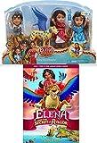 Doll Disney Movie Set DVD Elena and the Secret of Avalor + Mini Doll Set Elena of Avalor 4 Character Bundle