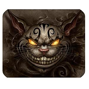Mystic Zone Alice in Wonderland Rectangle Mouse Pad (Black) - MZM00136 by ruishername