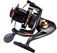 Fishing Reel, Light Weight Ultra Smooth Powerful Spinning Fishing Reels for Saltwater Freshwater