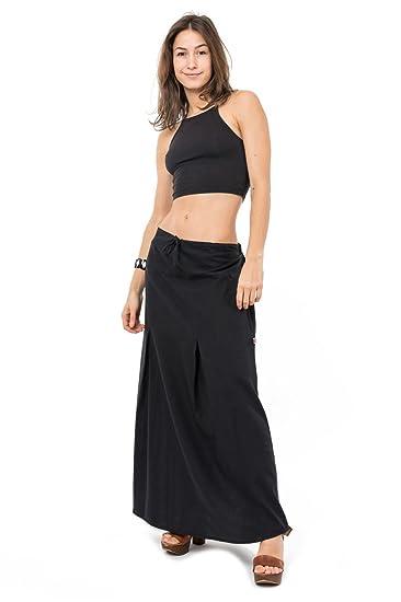 e87a9a8a7c68 FANTAZIA Jupe Longue Classic Chic Ditahtaille uni - Taille Unique  Amazon.fr   Vêtements et accessoires