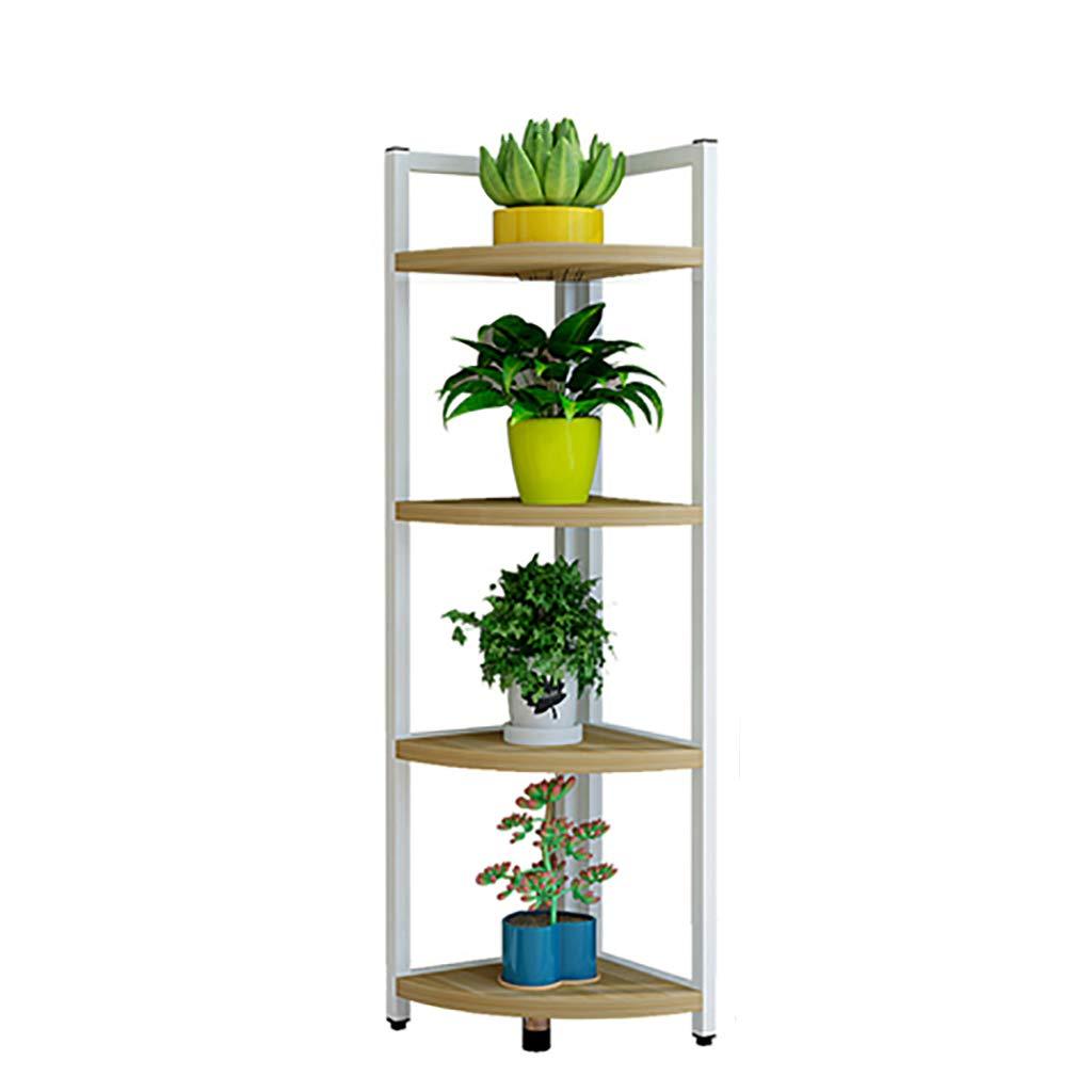 LWJJHJ Stand di Piante Verdi Flower Stand Corner Simple Multi-Layer Floor Rack Flower Stand Soggiorno Camera da Letto Scarpiera (colore   B2)