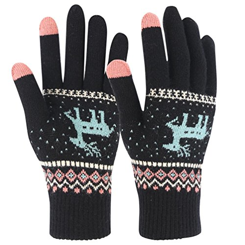 Novawo Ladies Girls Winter Warm Gloves with Smart Touchscreen for sale  Delivered anywhere in Canada