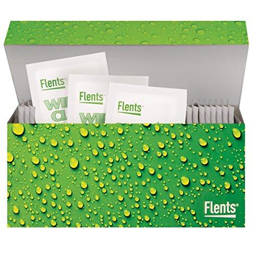 Flents Wipe N Clear Biodegradable Lens Wipes