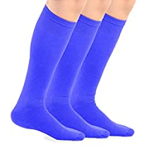 TeeHee Bamboo All Sports Half Cushion Socks with Arch Support 3-Pairs Pack