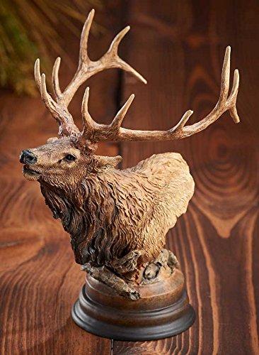 Primal Call - Elk Sculpture by Stephen Herrero ()