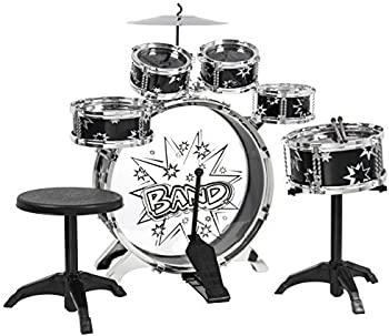 Best Choice Products 11-Piece Kids Drum Set