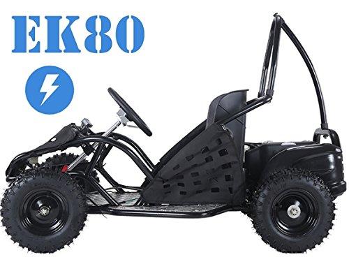 Taotao EK80 Electric Go Kart Black