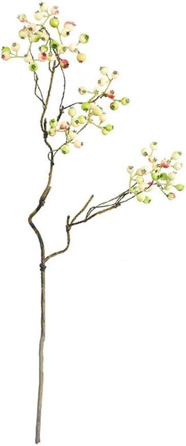 Hochzeit Garten Heimdekoration Party lebensechte Kunstblumen k/ünstliche Fr/üchte Gr/ün blau Zhaoyun K/ünstliche Beerenpflanze