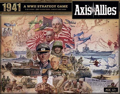Axis & Allies: 1941 Strategic Board Game