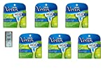 Venus Embrace Women's Razor Blade Refills 4 Count (Pack of 6) w/ Free Loving Care Trial Sized Conditioner