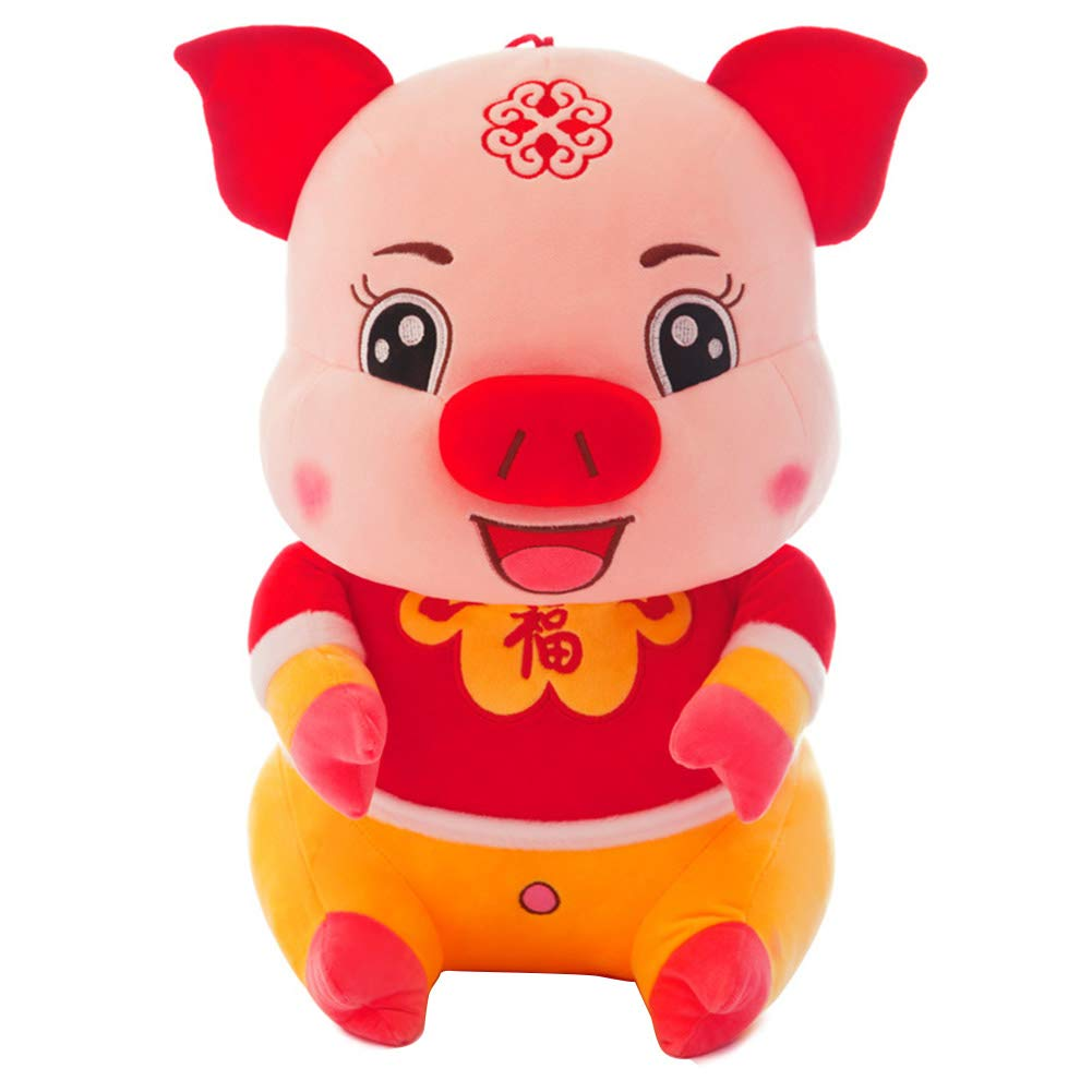 xinYxzR Simulated Cartoon Pig Plush Toy Soft Stuffed Animal Home Cushion 25/30/40cm 40cm