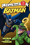 Batman Versus the Riddler (I Can Read Books: Level 2)