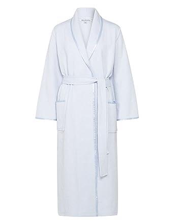 dd5c986b3e Slenderella HC7302 Women s Blue Floral Dressing Gown Robe Housecoat S  (10 12 ...