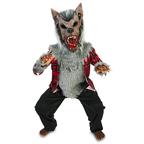 Howling Werewolf Child Costume XL (Werewolf Girl Dress Up)