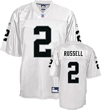 0ade1c54 Reebok Oakland Raiders Jamarcus Russell Replica White Jersey Large ...