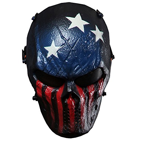 reebow gear tactical airsoft mask full face skull(Airsoft Gun)