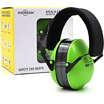 Adult Folding Ear Defenders Protectors Muffs Protector Hearing Noise Reduction